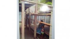 মুক্তাগাছায় স্বামীর ভিটায় বিধবাকে ঘর তুলতে বাধা
